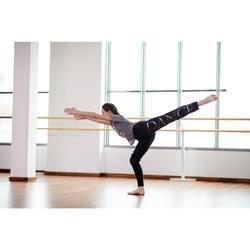Dance-Shirt Modern Dance Mädchen grau