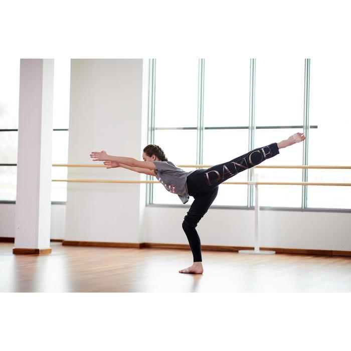 Pantalon modulable de danse moderne noir fille