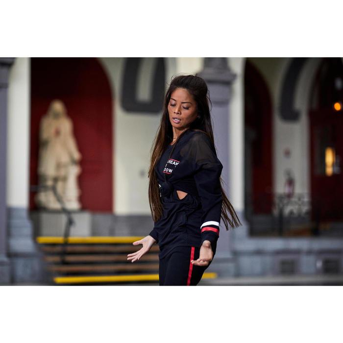 Sudadera de Hip Hop Negra Mujer