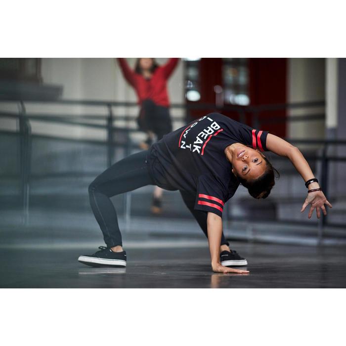 Tanz-Shirt Street Dance schwarz unisex