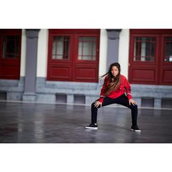 Sweat-shirt de danses urbaines femme rouge