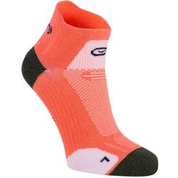 KIPRUN THIN MID-HEIGHT RUNNING SOCKS - PINK