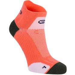 中筒跑步襪KIPRUN THIN - 粉色