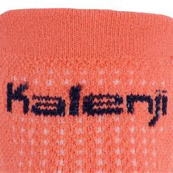 Calcetines Running Kalenji Kiprun Finos Adultos Rosa