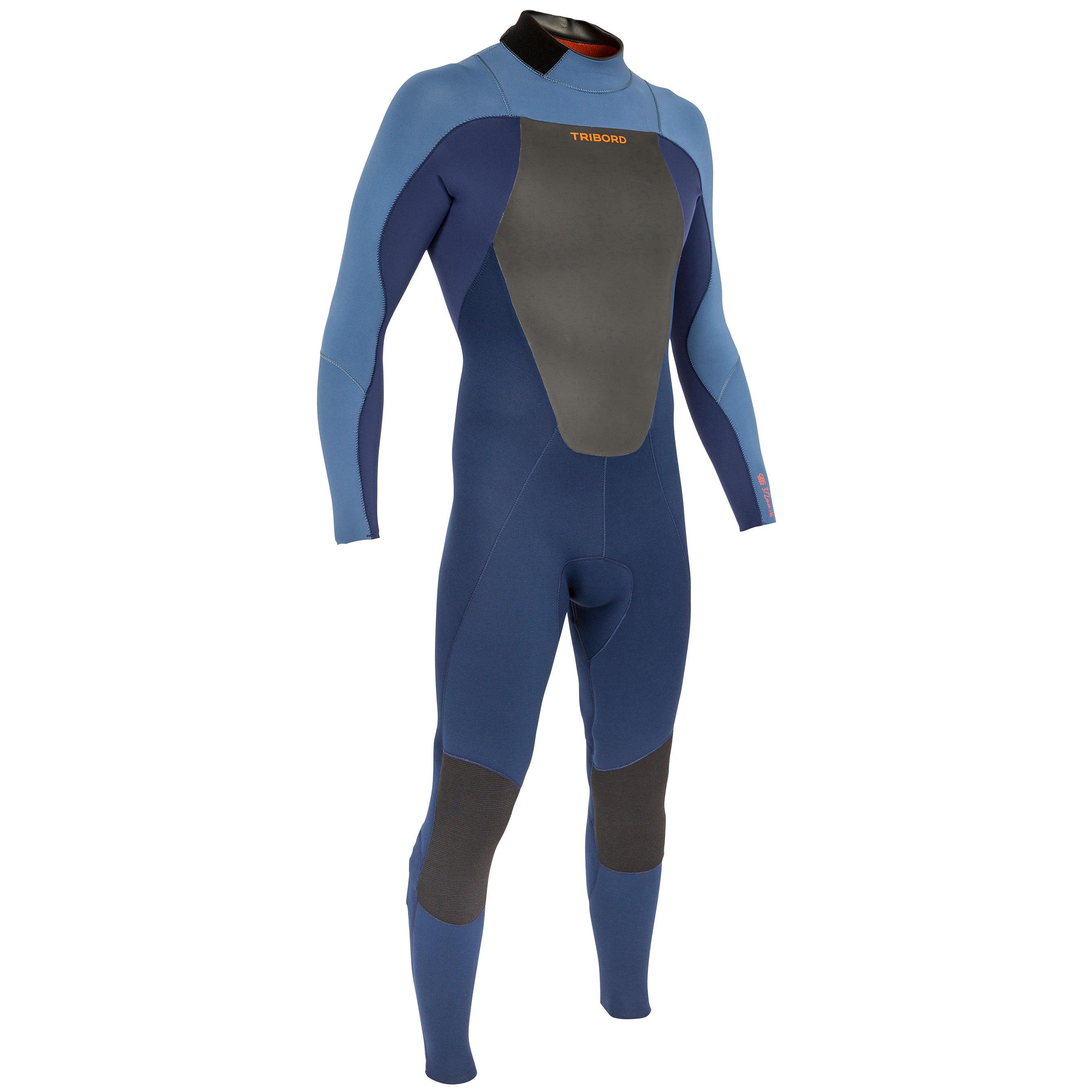 32 500 Combinaison Homme Mm Néoprène Surf Bleu L4AjR35q