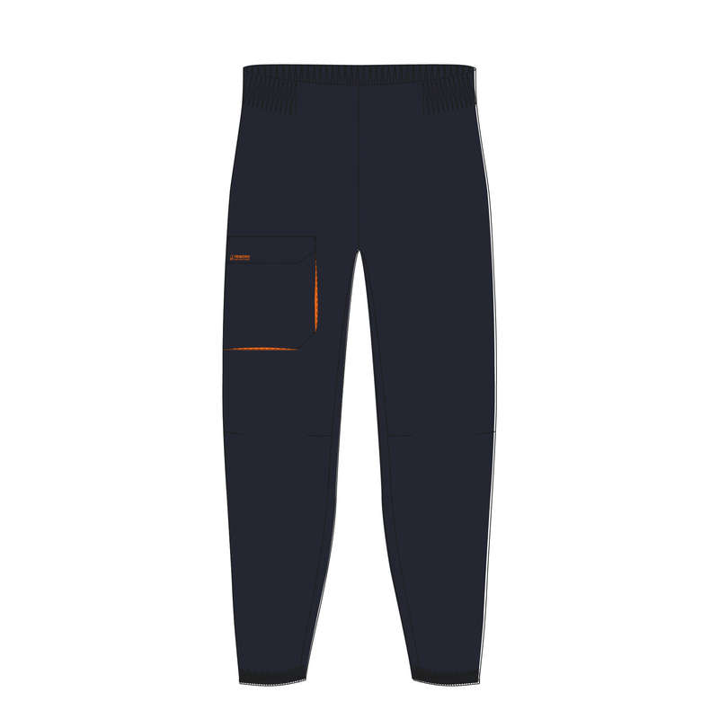 CRUISING RAINY AND COLD WEATHER JR Sailing - K Overtrousers Sailing100 Navy TRIBORD - Sailing Clothing