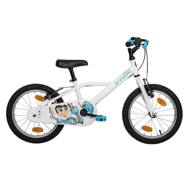 "Kids' Bike 16"" 100 - Ice Boy (Inuit)"