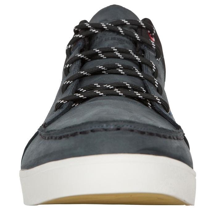 Zapatos náuticos de cuero para hombre KOSTALDE RAIN Azul