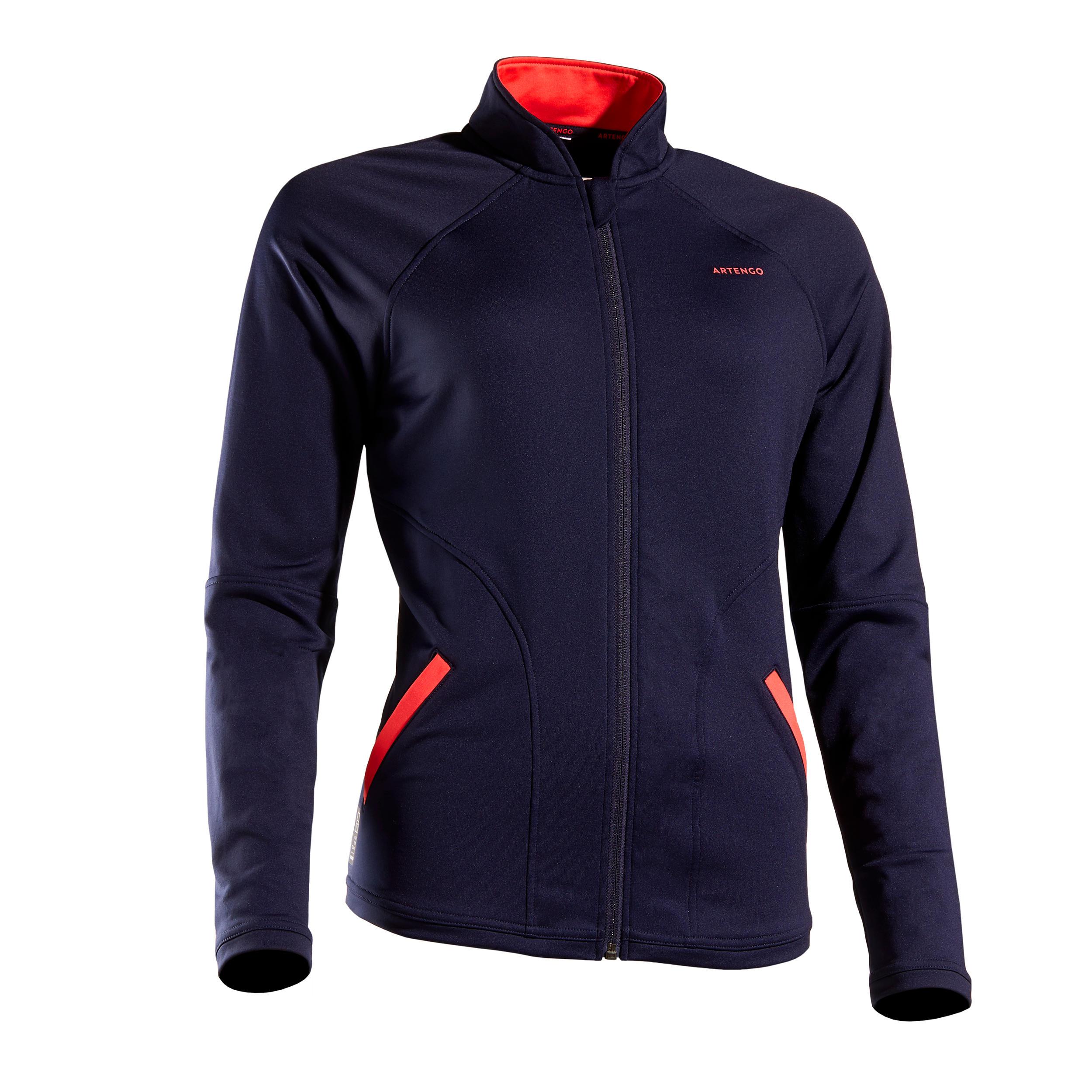 Jachetă Tenis TH500 Damă imagine