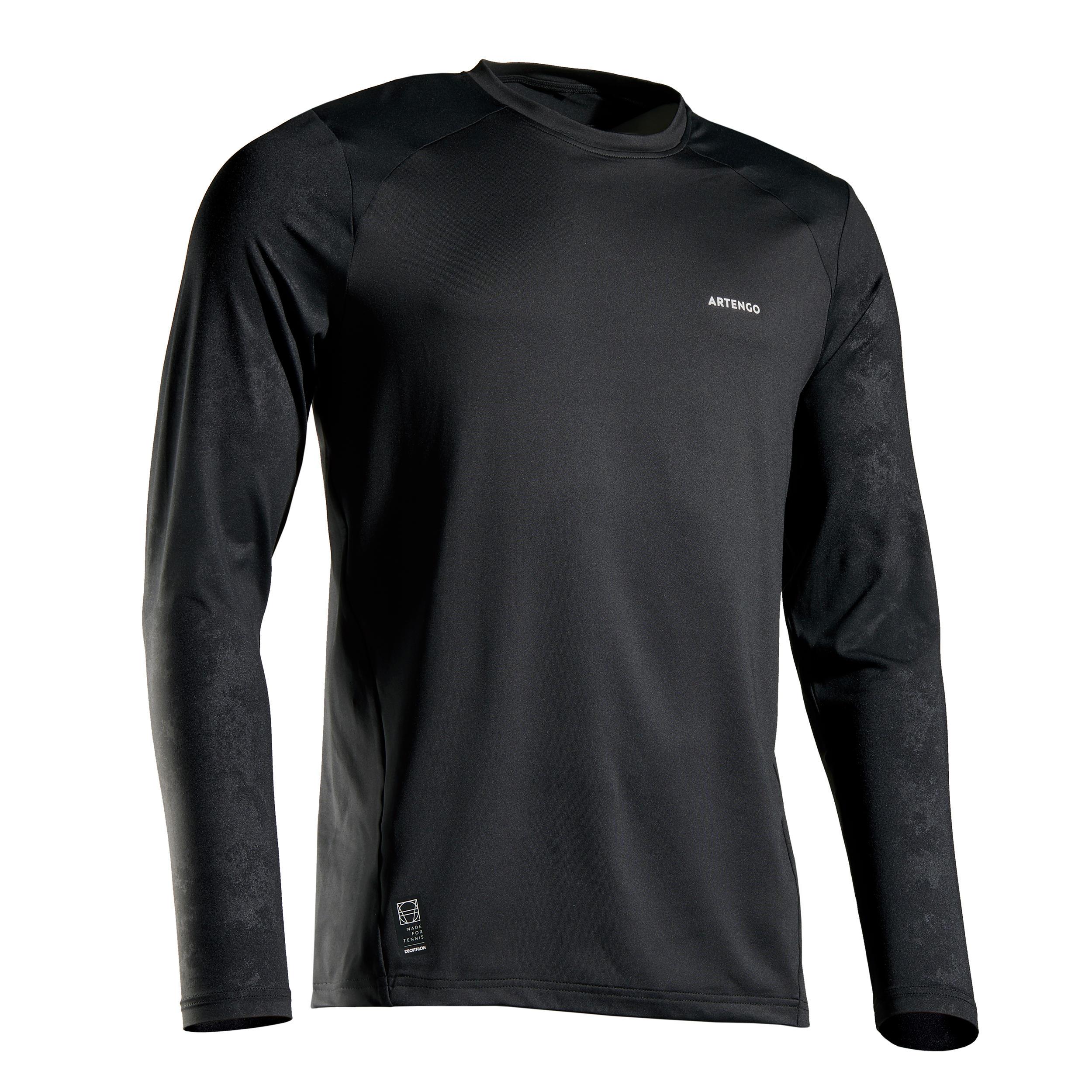 Tee shirt tts500 th noir artengo