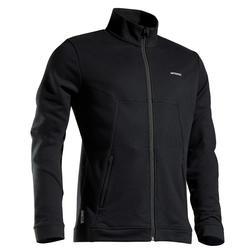 保暖網球外套TJA500 - 黑色