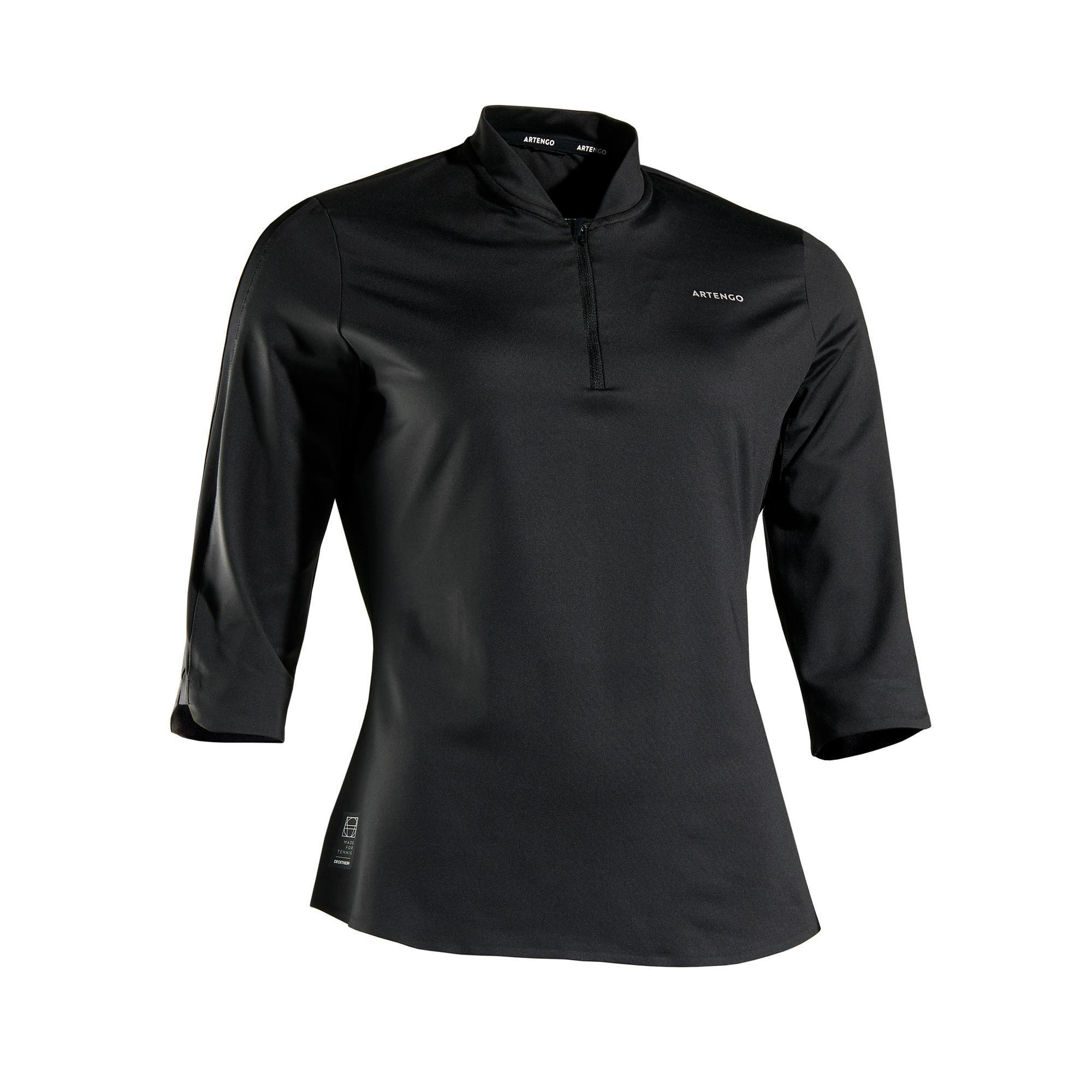 Tennistop TS Dry 900 3/4-Ärmel Damen | Sportbekleidung > Sporttops > Tennistops | Artengo