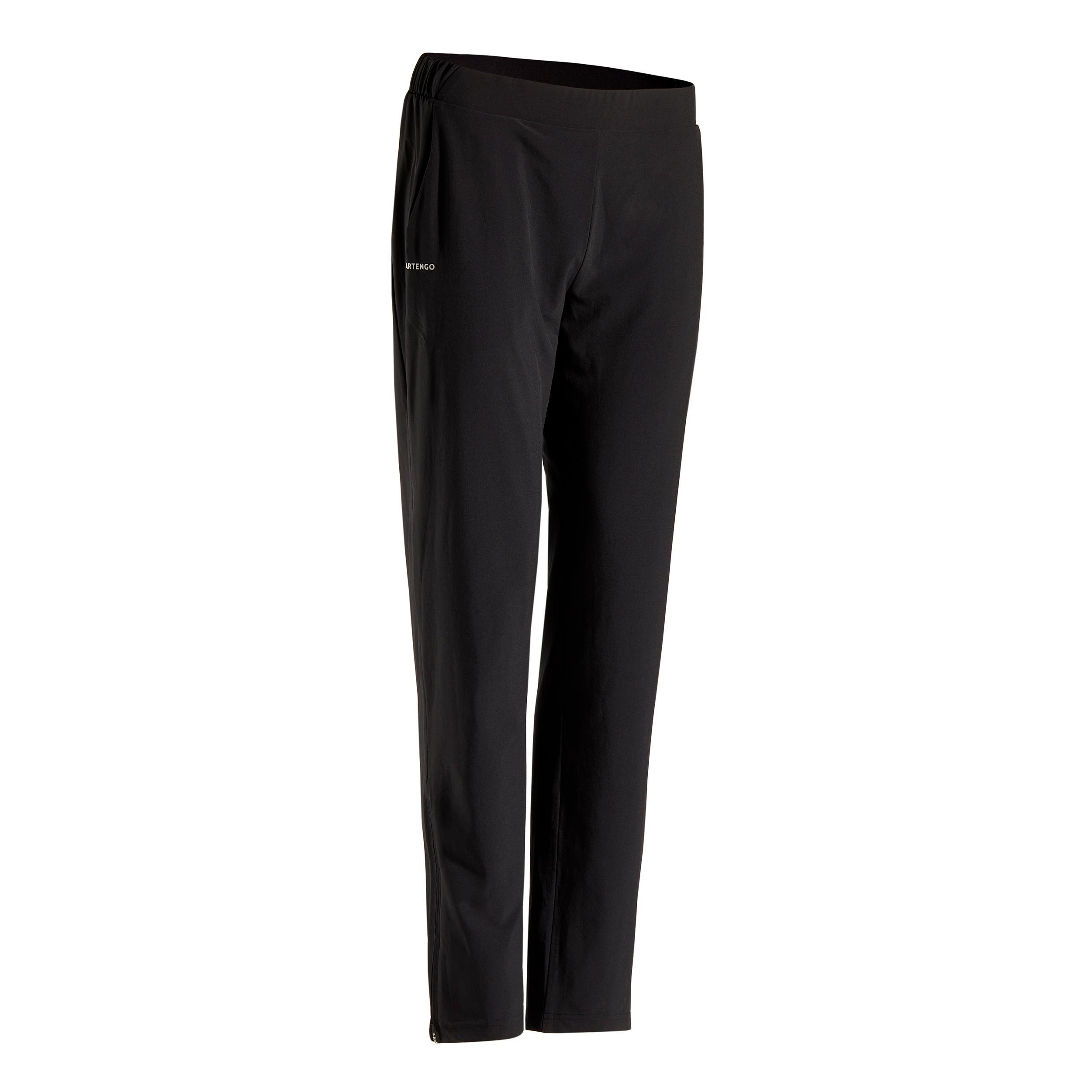 Tennishose PA Dry 500 Damen schwarz | Sportbekleidung > Sporthosen > Tennisshorts | Schwarz | Artengo