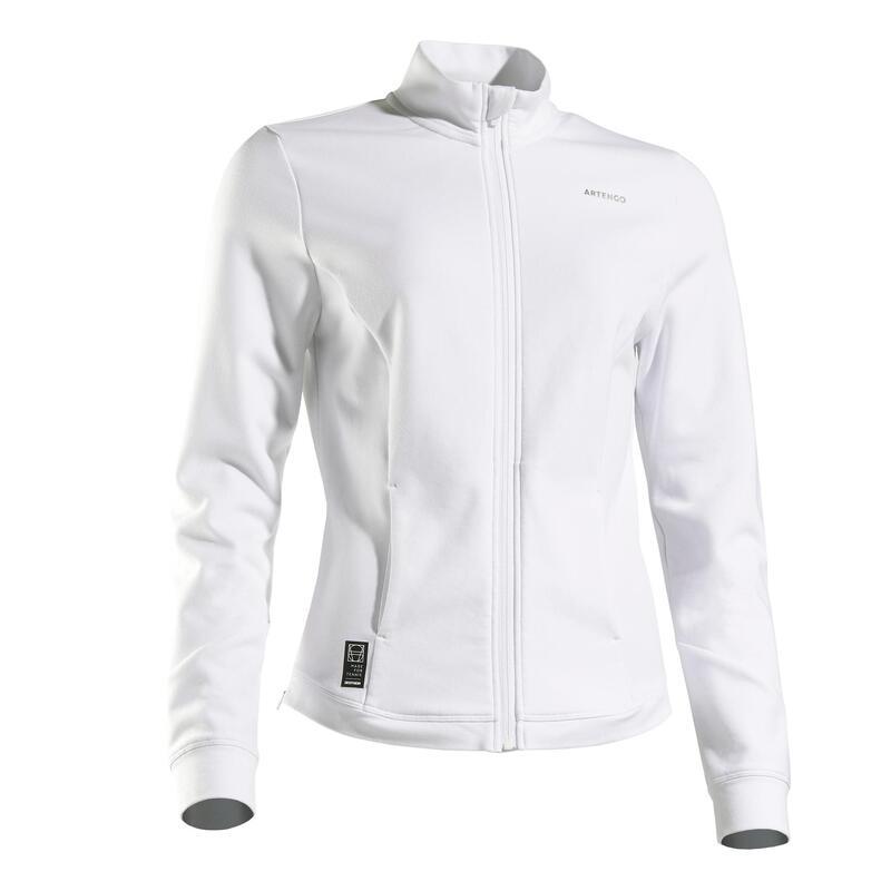 Chaqueta de Tenis Artengo JK Dry 900 Mujer Blanco