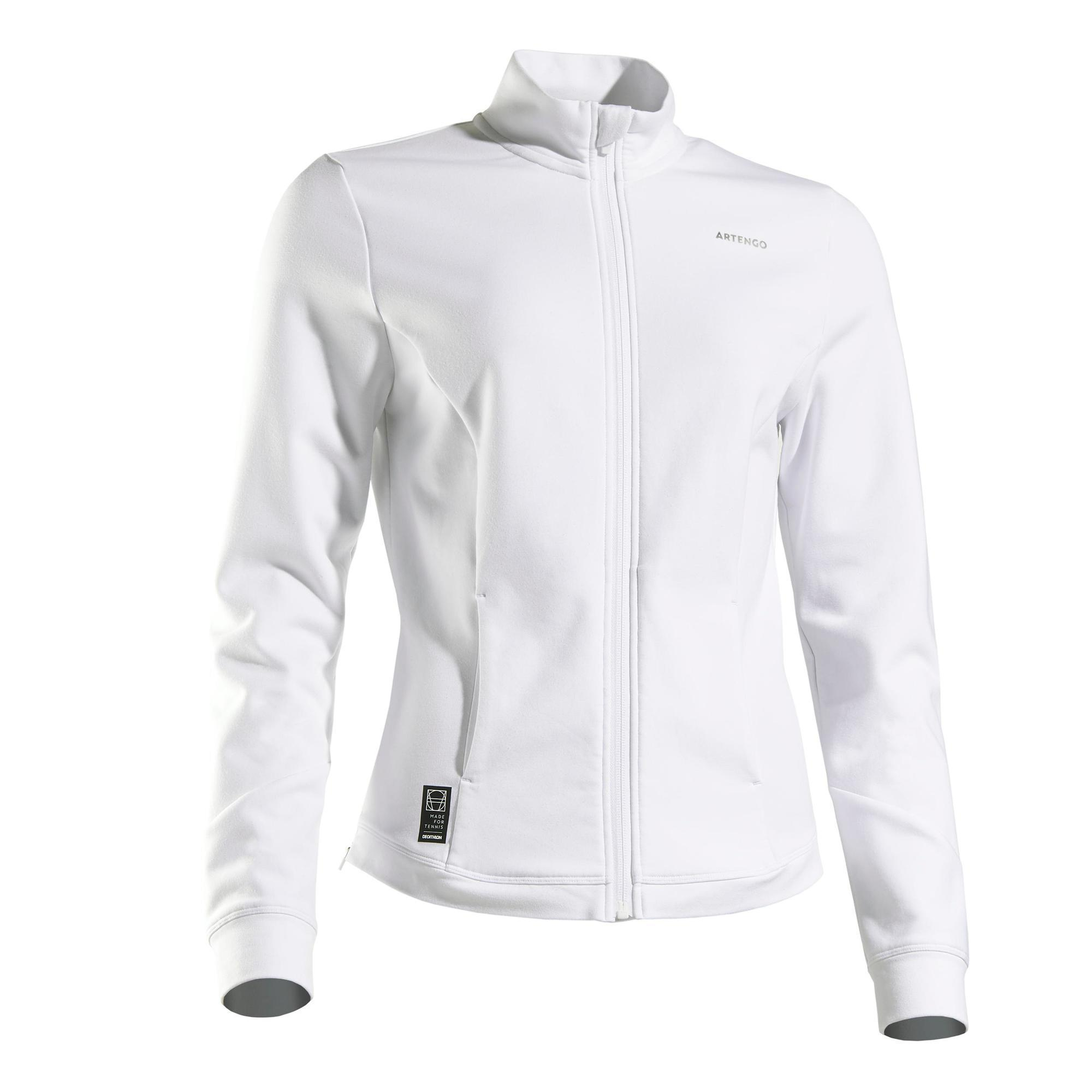 Tennisjacke Trainingsjacke JK Dry 900 Damen | Sportbekleidung > Sportjacken > Trainingsjacken | Artengo