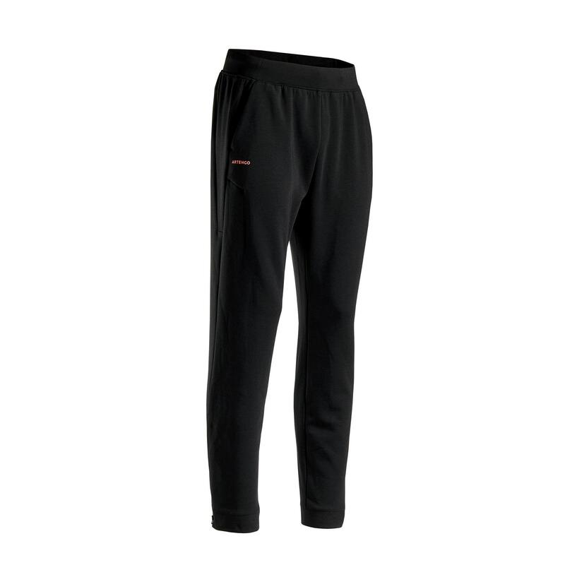 Pantalon Tenis TP900 Negru Bărbați
