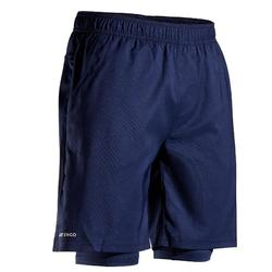 Tennisshorts TSH500 TH Herren marineblau