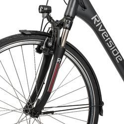 E-Bike City Bike 28 Zoll Riverside City Nexus 8 Active Plus 400 Wh Rücktritt