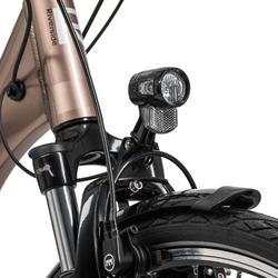 "E-Bike 28"" Riverside City Nexus 8 Active Plus 400 Wh Rücktritt braunmetallic"