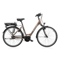 "E-Bike 28"" Riverside City Nexus 8 Active Plus 400 Wh Rücktritt braunmetallic"