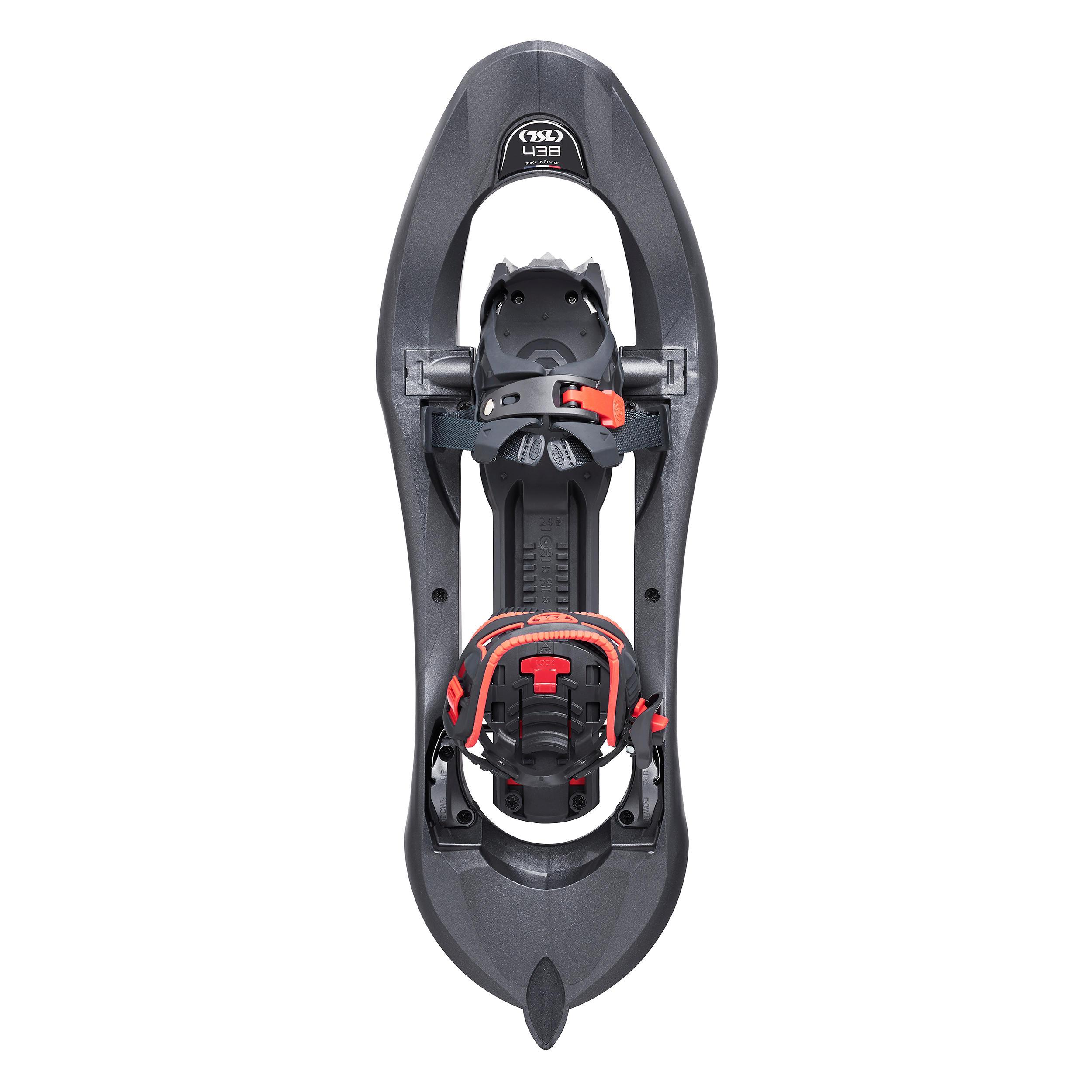 Schneeschuhe TSL 438 Up & Down Grip großer Rahmen grau | Schuhe > Sportschuhe > Schneeschuhe | TSL