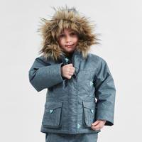 Girls' 2-6 Years Hiking Warm and Waterproof Jacket SH500 U-Warm