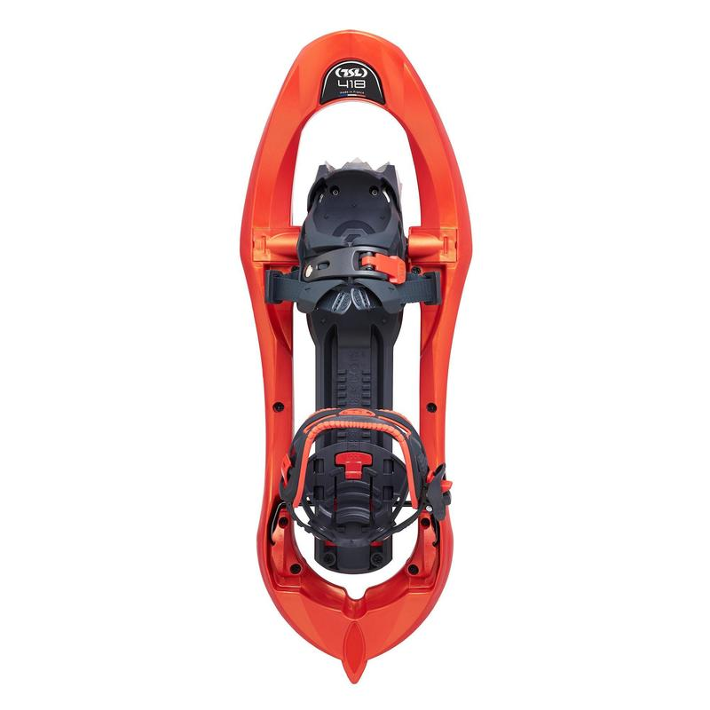 Raquettes à neige grands tamis - TSL 418 Up&Down Grip orange -