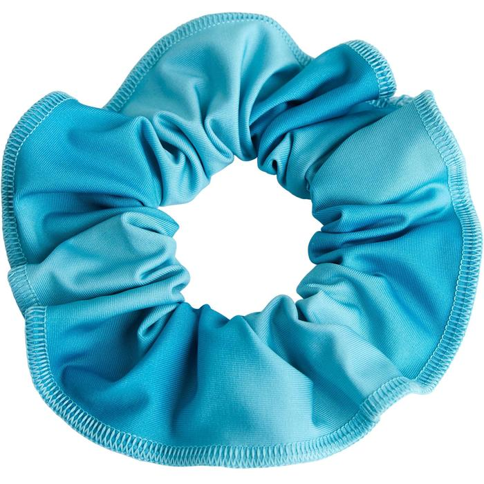 Scrunchie voor artistieke gymnastiek turquoise