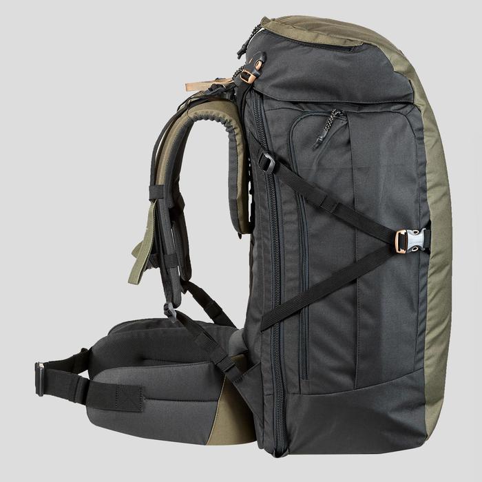 背包Travel100 60 L-駝色