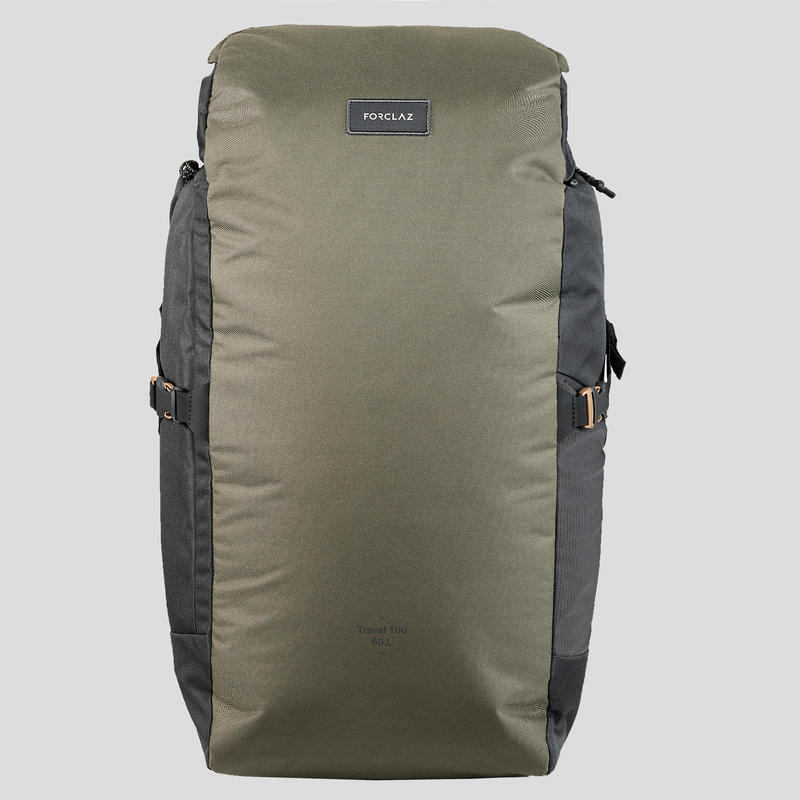 Backpack Travel 100 60 Litres - Camel