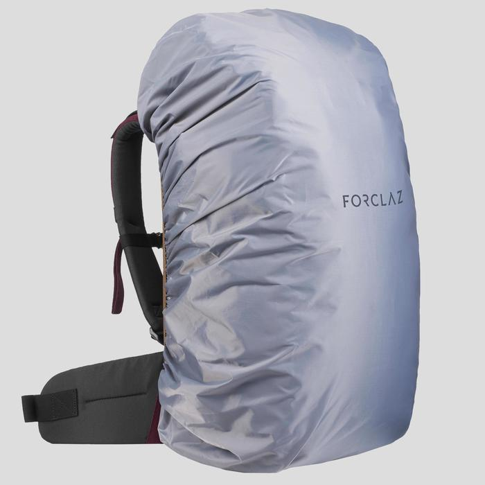 Rugzak voor backpacken Travel 100 40 liter bordeaux