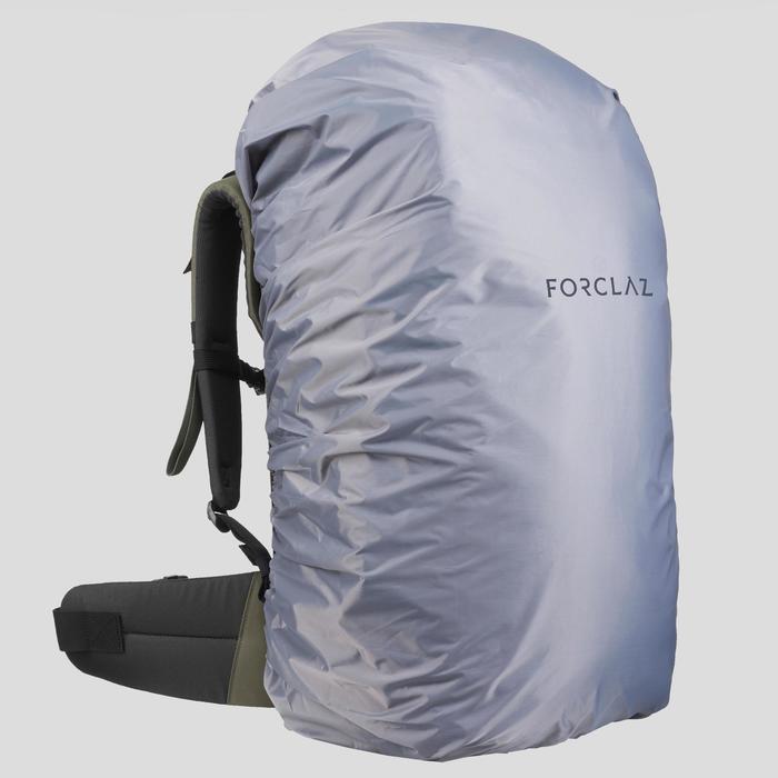 Mochila Montaña y Trekking Viaje Forclaz T100 60 Litros Caqui