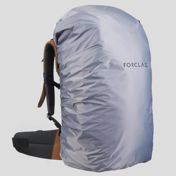 Mochila Montaña y Trekking Viaje Forclaz T100 60 Litros Canela
