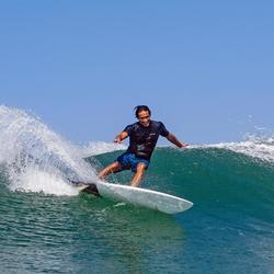 """Planche de surf rigide 5'10"""" shortboard 900 . Livrée avec 3 ailerons."""