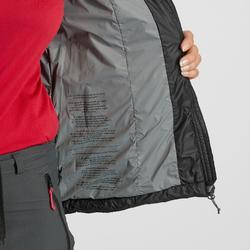 Wattierte Jacke Trek 100 Damen schwarz