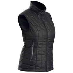 Mountain TREKKING TREK 100 women's padded sleeveless gilet, black