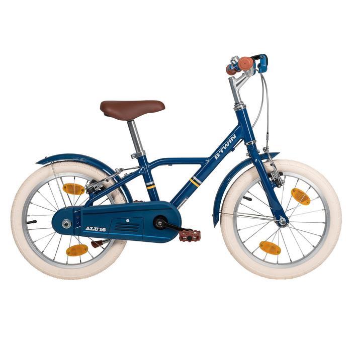 Kinderfahrrad 16 Zoll City 900 blau