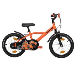 Kinderfahrrad 16 Zoll Robot 500 orange/schwarz