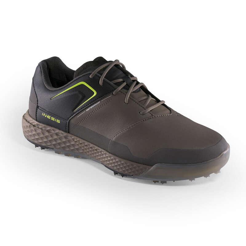 SCARPE GOLF UOMO TEMPO MITE Golf - Scarpe uomo GRIP WATERPROOF INESIS - Abbigliamento e scarpe golf