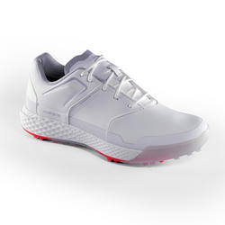 Golfschoenen dames Grip Waterproof wit