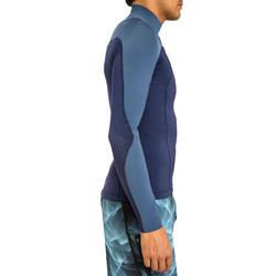 Neopreen surftop 900 met lange mouwen voor heren blauw - 166676