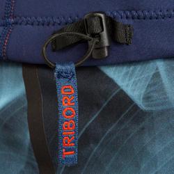 Neopreen surftop 900 met lange mouwen voor heren blauw - 166687