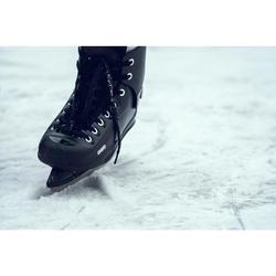 Patín sobre hielo FIT50 Hombre negro
