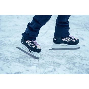Schaatsen Fit 500 blauw/roze