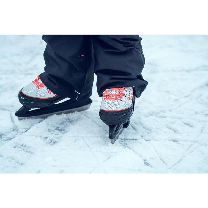 Schaatsen FIT500 grijs/rood