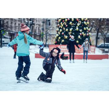 Schaatsen voor kinderen FIT500 grijs/rood