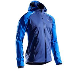 Chaqueta Running Kalenji Kiprun Warm Regul Hombre Azul