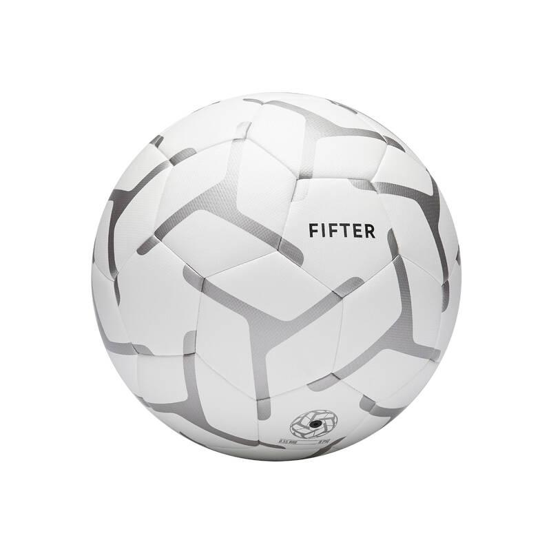 MALÝ FOTBAL Fotbal - MÍČ FOOT5 100 VEL. 4 BÍLÝ FIFTER - Fotbalové míče a branky