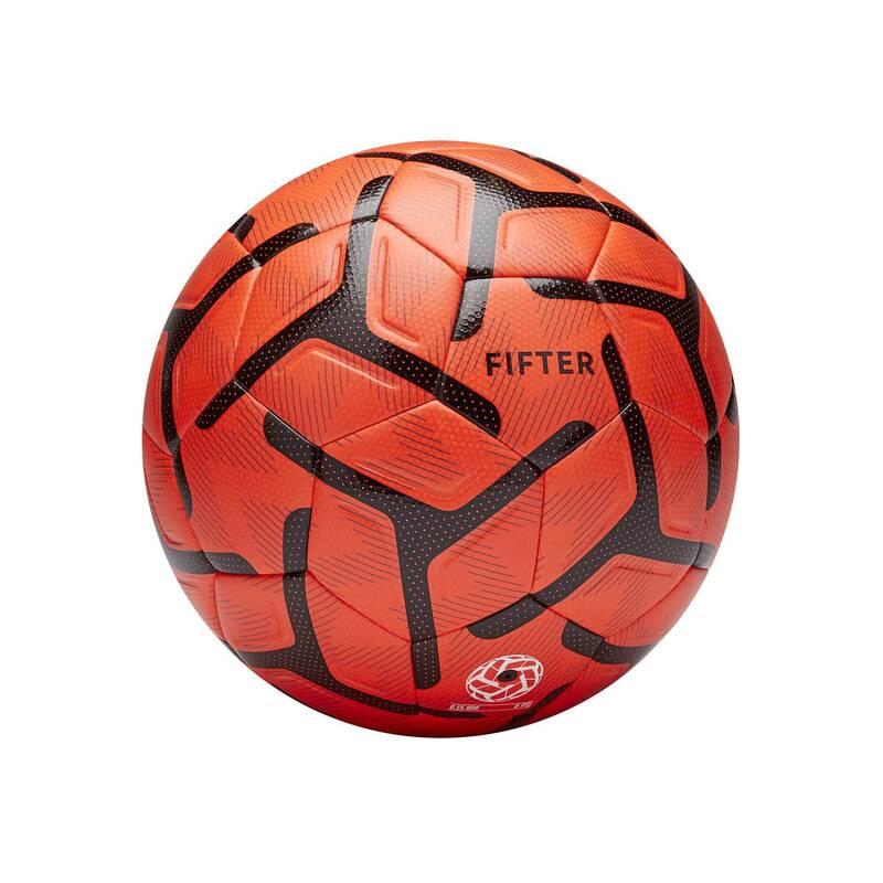 MALÝ FOTBAL Fotbal - MÍČ FOOT5 500 VEL. 4 ORANŽOVÝ FIFTER - Fotbalové míče a branky