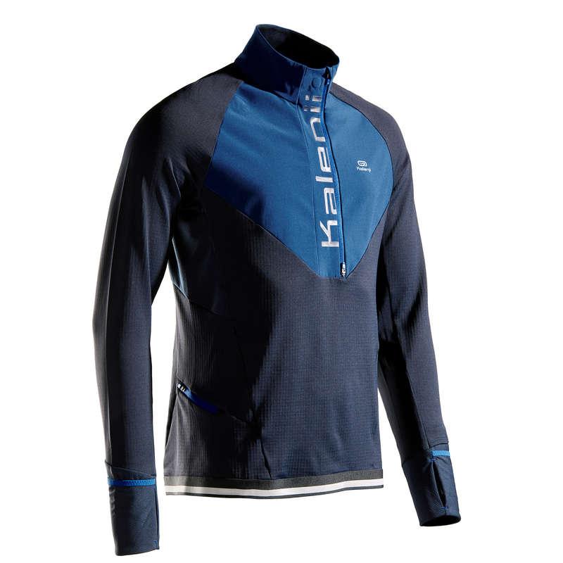 MAN ROAD RUNNING COLD WEATHER CLOTHES - KIPRUN WARM REGUL T-SHIRT ML KIPRUN